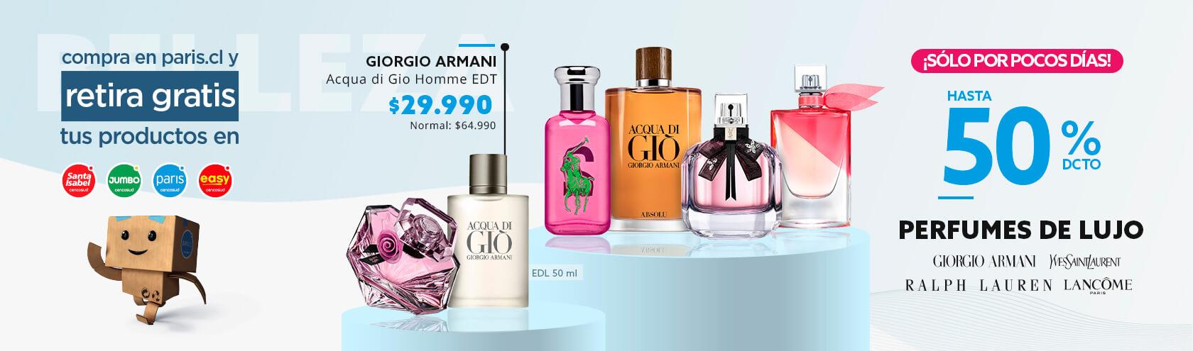 ¡Solo por Pocos Días! Hasta 50% Perfumes de Lujo