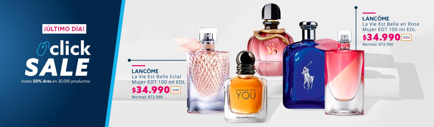 Ofertas ClickSale en Perfumeria