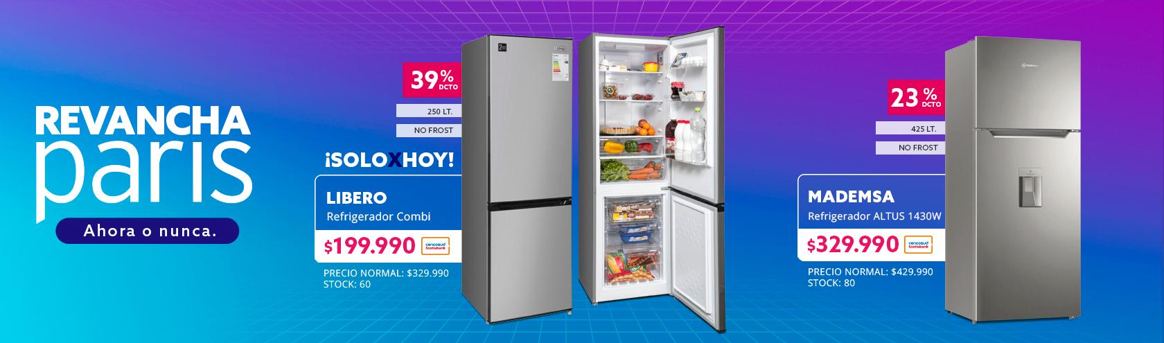 Refrigerador Combi Libero 250 Litros No Frost