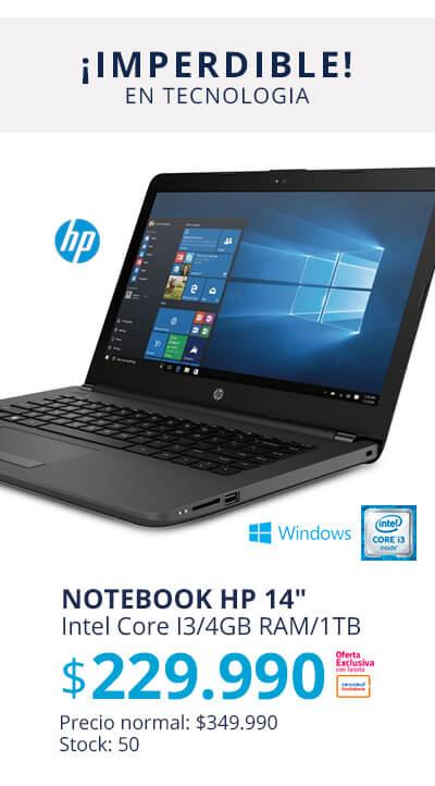 Notebook HP 240 Intel Core