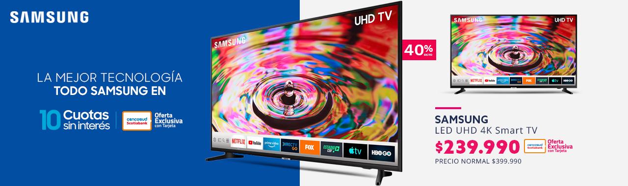 Smart TV  50 pulgadas Ultra HD 4K