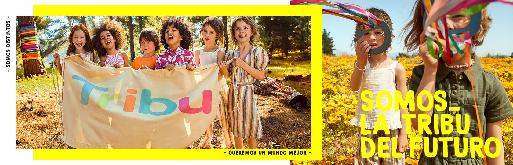 Nueva colección sustentable de vestuario para niños de Tribu