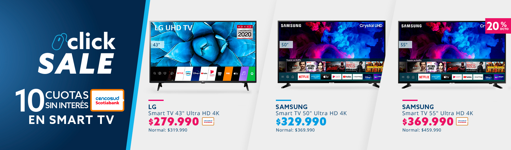 Ofertas en tv grandes marcas