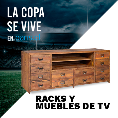 Racks y muebles de tv para ver comodo todos los partidos de copa america