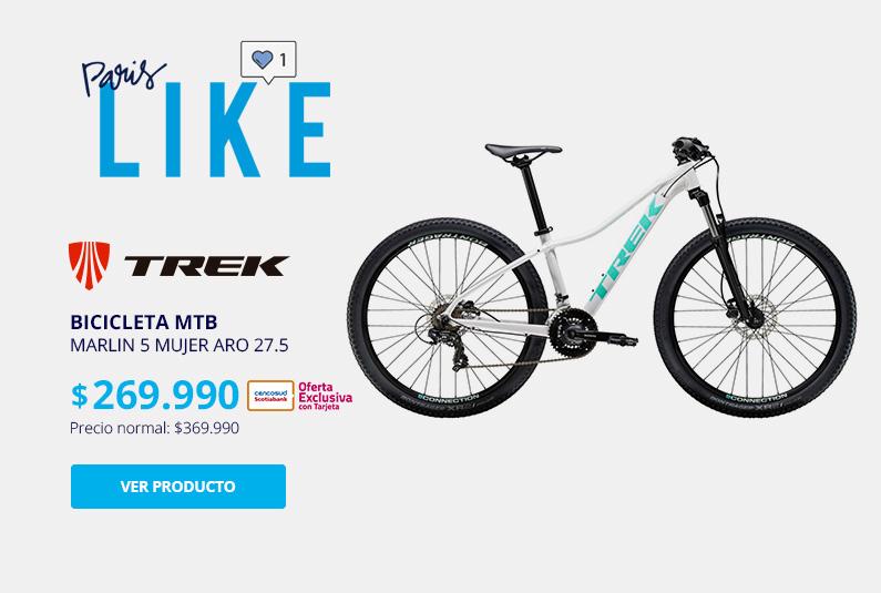 Bicicleta MTB Marlin 5 Mujer Aro 27.5