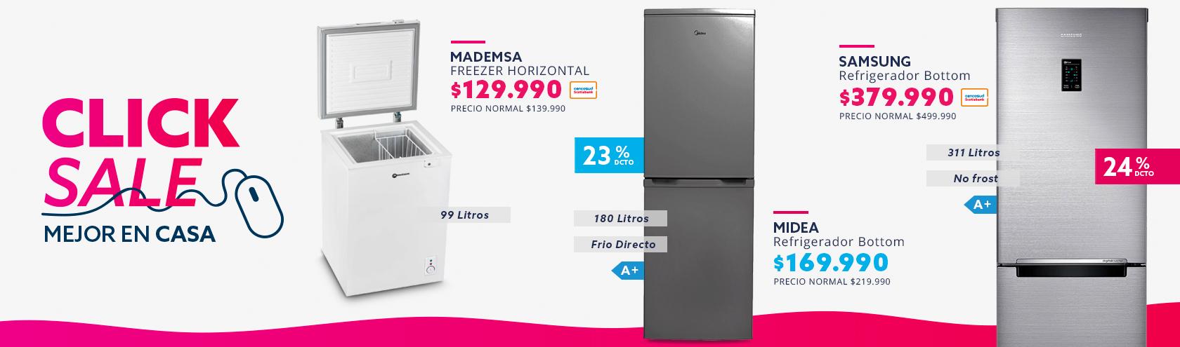 Ofertas en freezer y refrigeración