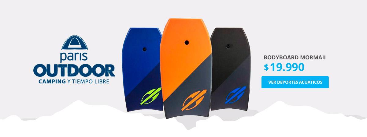 Bodyboard Mormaii $19.990