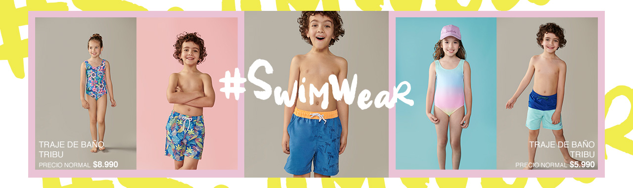 Colección Swimwear infantil