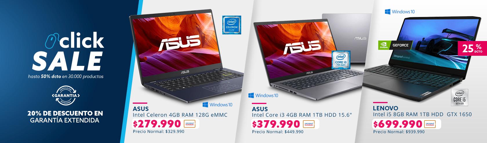 Ofertas en Computadores grandes marcas
