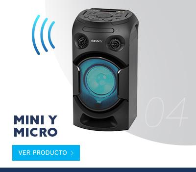Ver todo Mini y Micro