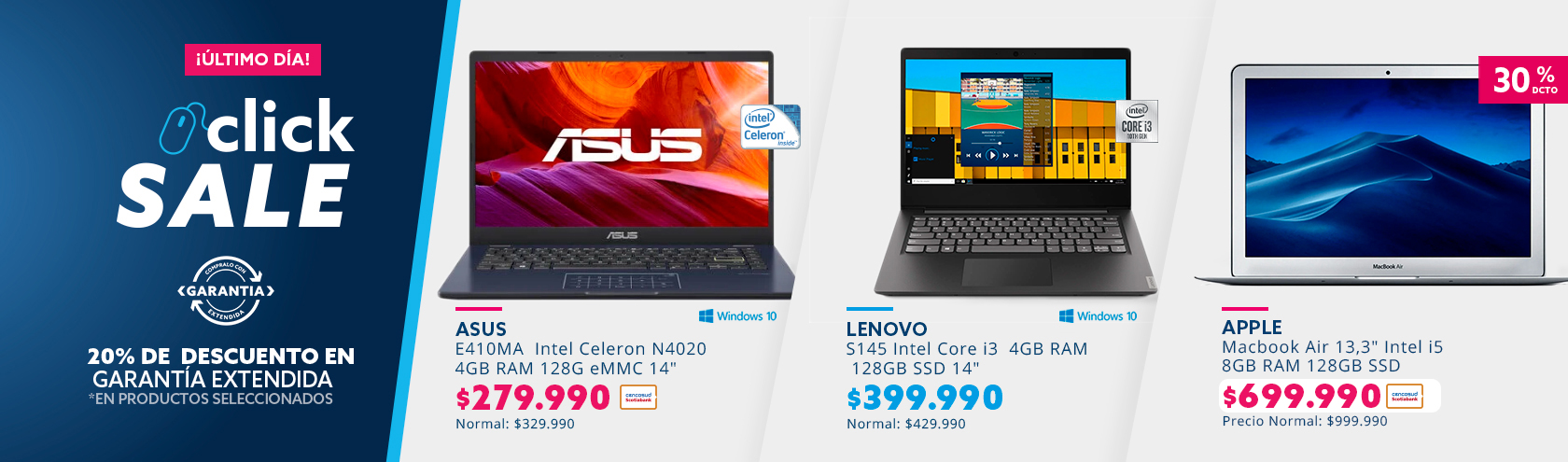 Ofertas en notebooks