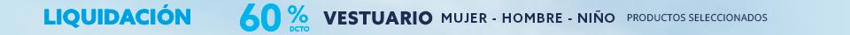 Liquidacion 2x1 vestuario productos seleccionados