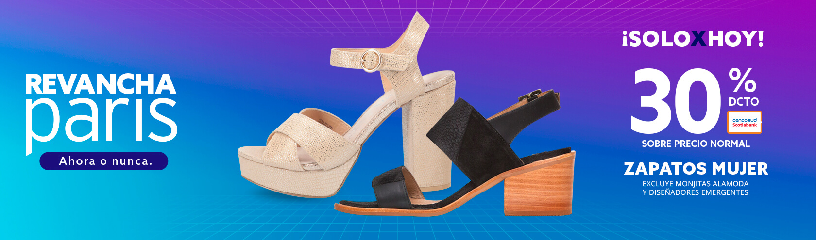 Zapatos Mujer 30 porciento de descuento con Tarjeta Excluye monjitas a la moda y diseñadores emergentes Sobre Precio Normal
