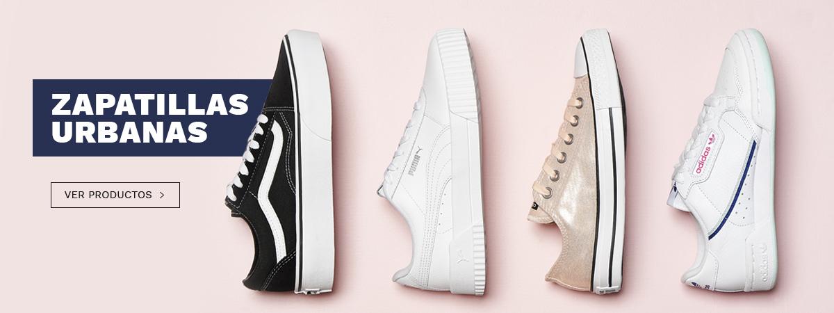 Zapatillas urbanas, Vans, Adidas, Puma y más
