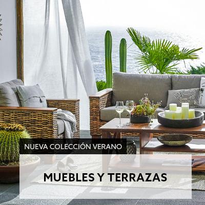Nueva colección verano muebles y terrazas