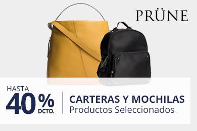 Carteras y Mochilas Prüne hasta 40%