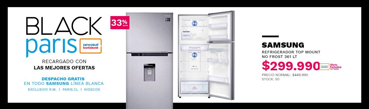 Refrigerador Samsung Top Mount No Frost 361 Lt