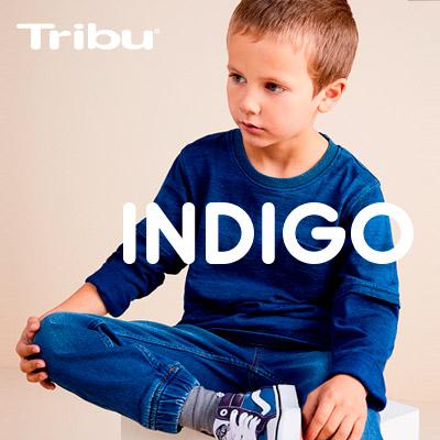 Pantalones, poleras y más ropa de niño colección Índigo