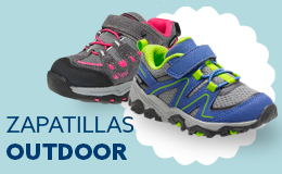 Zapatillas outdoor infantil