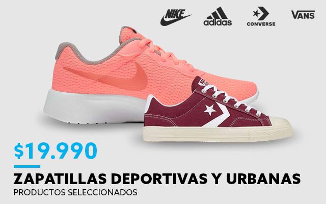 Zapatillas urbanas desde 19990