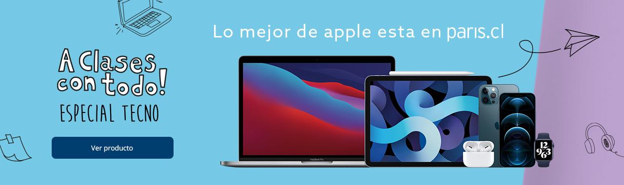 Encuentra lo mejor de Apple en Paris.cl