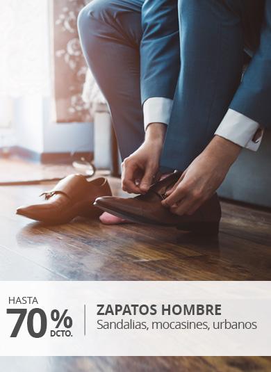 Liquidación calzado hombre