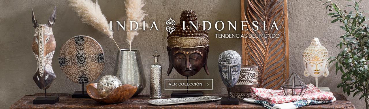 Decora tu hogar con el especial india indonesia