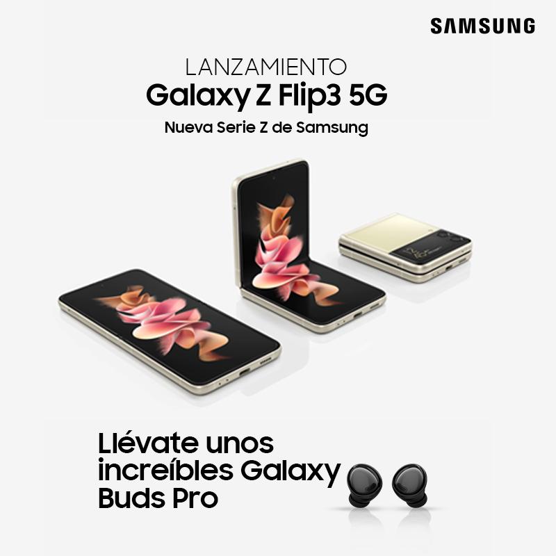 Nuevo Galaxy Z Flip 3 5G