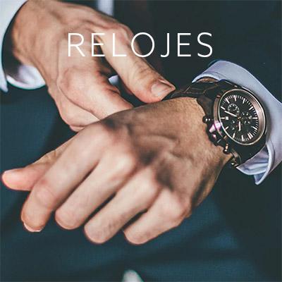 Relojes para hombre de distintos diseños y marcas