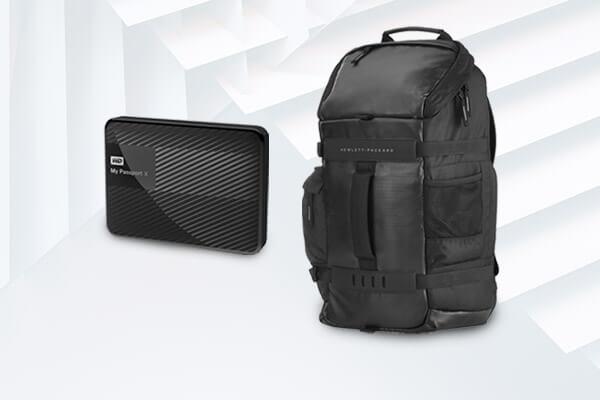 Mouse, pendrives, teclados, bolsos y más accesorios de computación