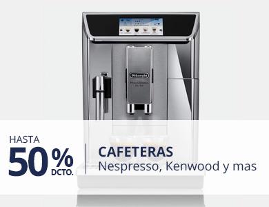 Hasta 50% en Cafeteras