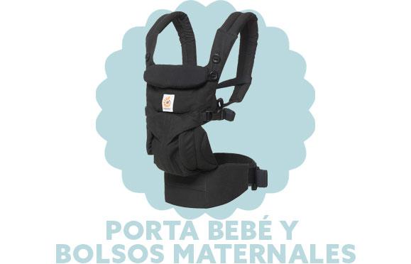 Porta Bebé y bolsos maternales