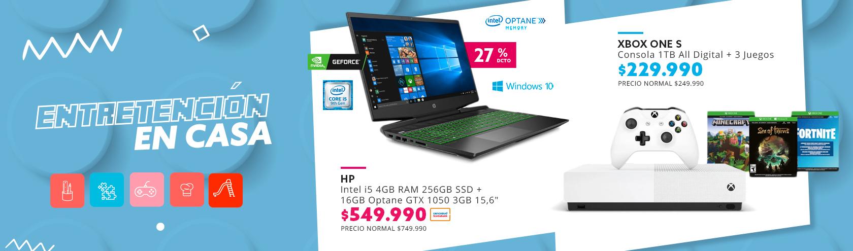 HP Pavilion 15-dk0014la Intel i5 4GB RAM  256 GB SSD + 16 GB Optane 15,6