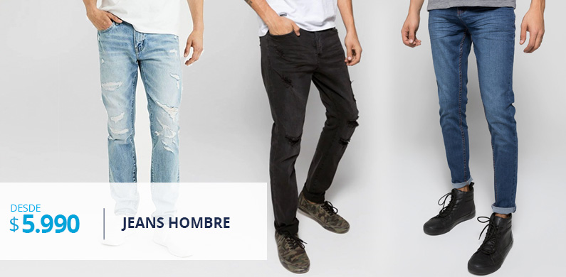 Jeans desde 4.990