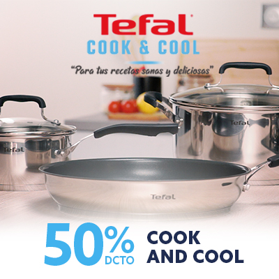 Ofertas especiales con Tefal cook and cool