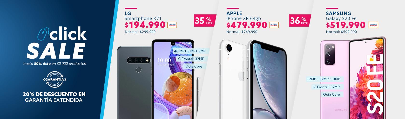 Ofertas en celulares grandes marcas