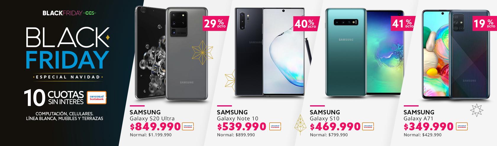 Descuentos en Samsung