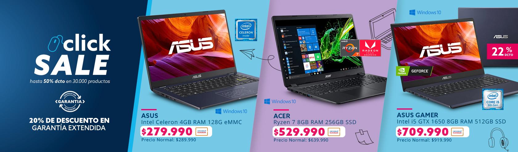 Ofertas en notebook grandes marcas