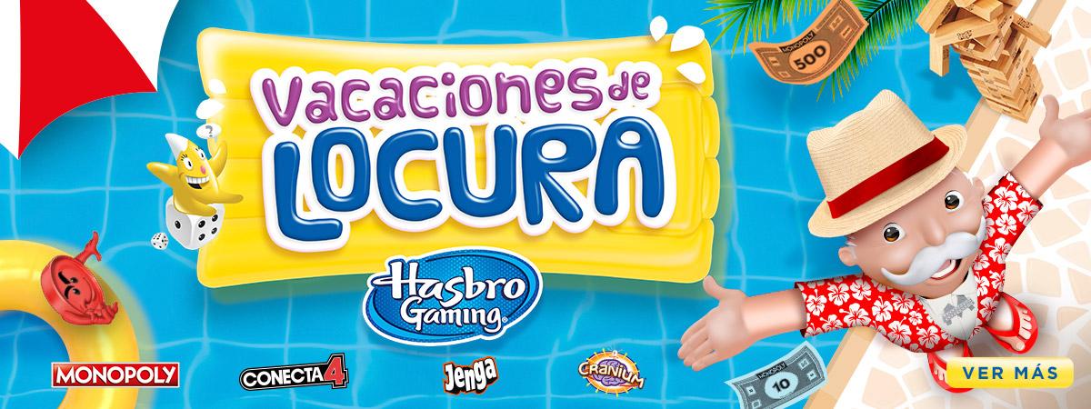 Hasbro Gaming Vacaciones de Locura