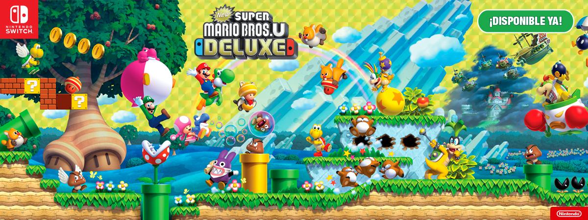 Super Mario Bross Deluxe disponible ya!