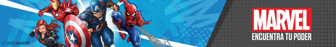 Figuras y Juegos de acción de Marvel