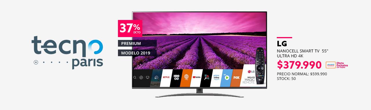 NanoCell Smart TV  55