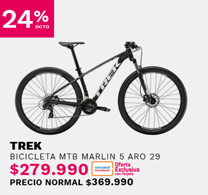 Bicicleta Trek Marlin 5 aro 29