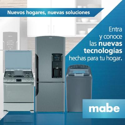 Conoce las nuevas tecnologías Mabe para tu hogar