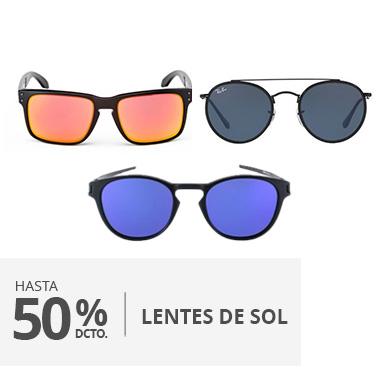 Hasta 50 descuento lentes de sol
