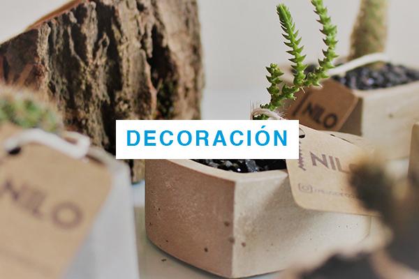 Productos Sostenibles de Decoración