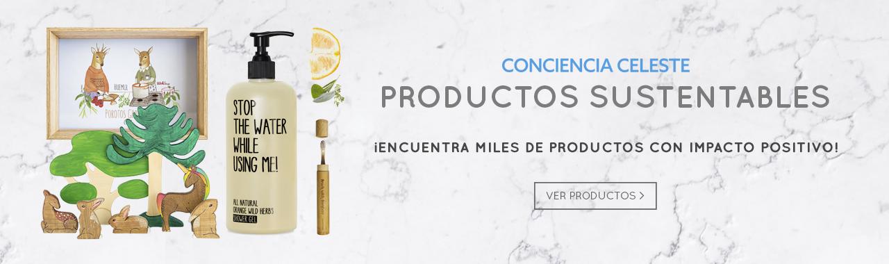 Conciencia Celeste Productos Sostenibles
