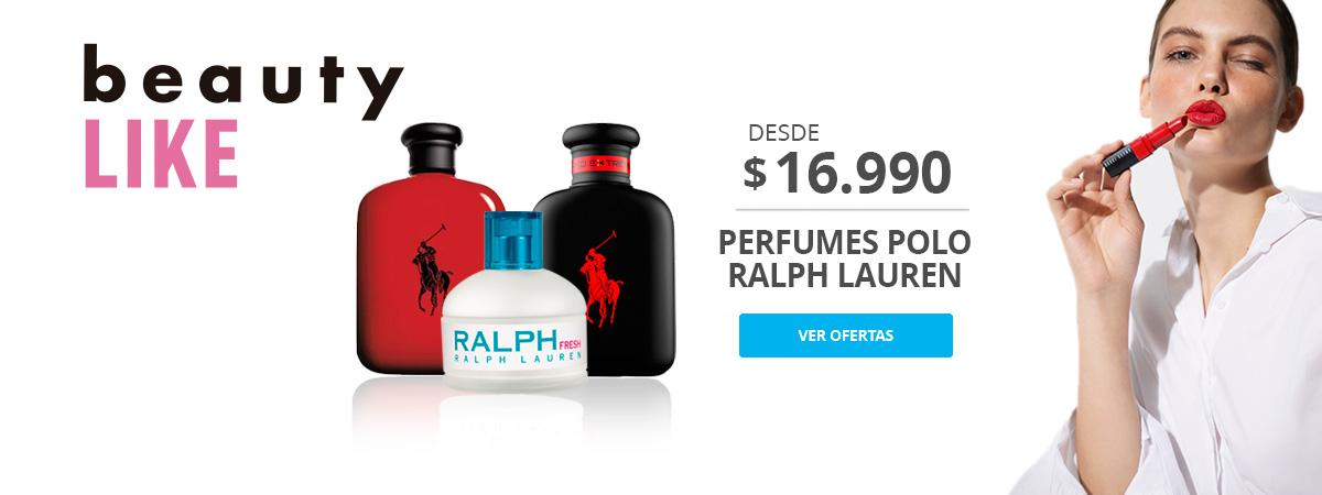 Perfumes Polo Ralph Lauren desde 16.990