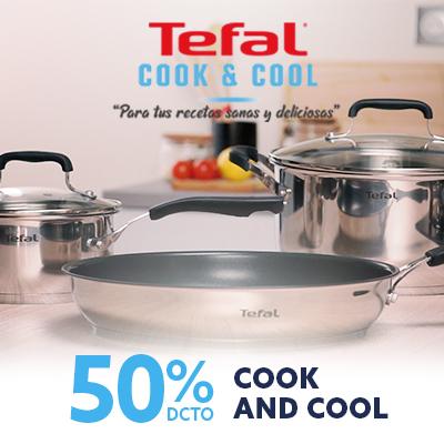 Ofertas especiales con Tefal cook and cool