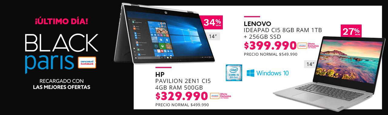 HP Pavilion 2en1 CD0006LA CI5 4GB RAM 500GB 14 a $329.990 con tu Tarjeta Cencosud